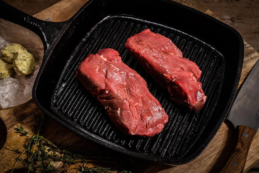grass fed fillet steak dry aged