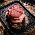 mini venison roast joint