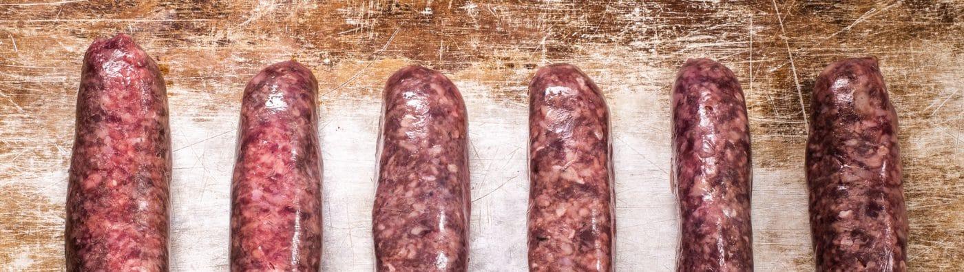 free range sausages