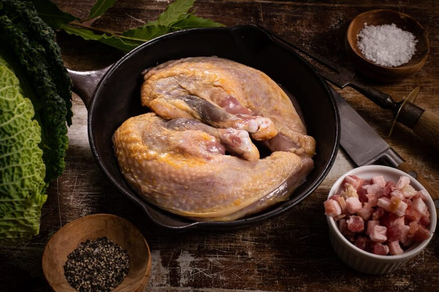 wild guinea fowl breasts